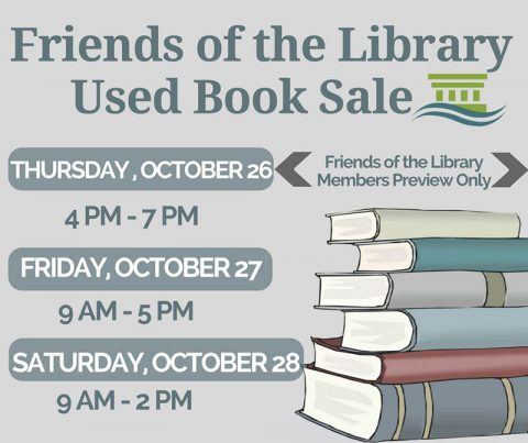 2017 Friends of the Library Used Book Sale