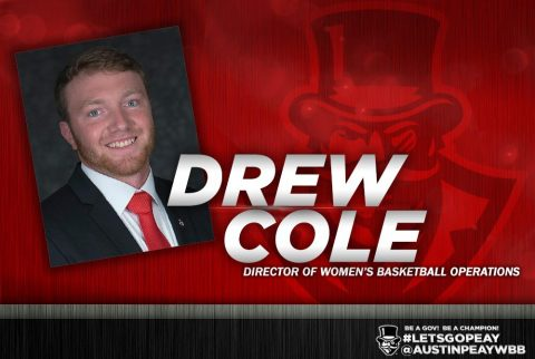 APSU Women's Basketball Director of Operations Drew Cole. (APSU Sports Information)