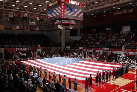 Austin Peay Dunn Center. (APSU Sports Information)