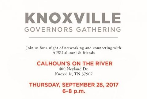Austin Peay Govs Gathering to be held in Knoxville, September 28th