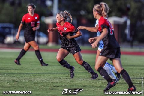 Austin Peay Soccer travels to Baton Rouge to take on LSU Sunday. (APSU Sports Information)
