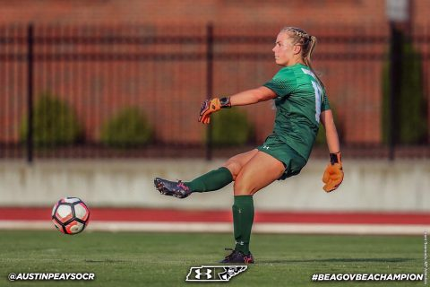 Austin Peay Women's Soccer finishes nonconference play this weekend against Mississippi Valley State and Little Rock. (APSU Sports Information)