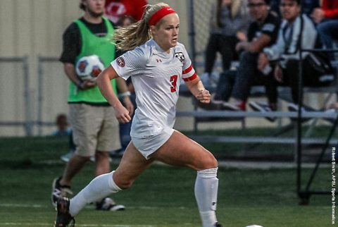 Austin Peay Soccer beats Mississippi Valley State at Morgan Brothers Field on Senior Night. (APSU Sports Information)