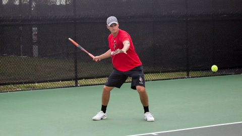 Almantas Ozelis and Christian Edison, of the Austin Peay State University Men's Tennis team are ready for ITA Men's All-American Championships this Saturday. (APSU Sports Information)