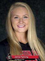 APSU Volleyball's Jenna Panning
