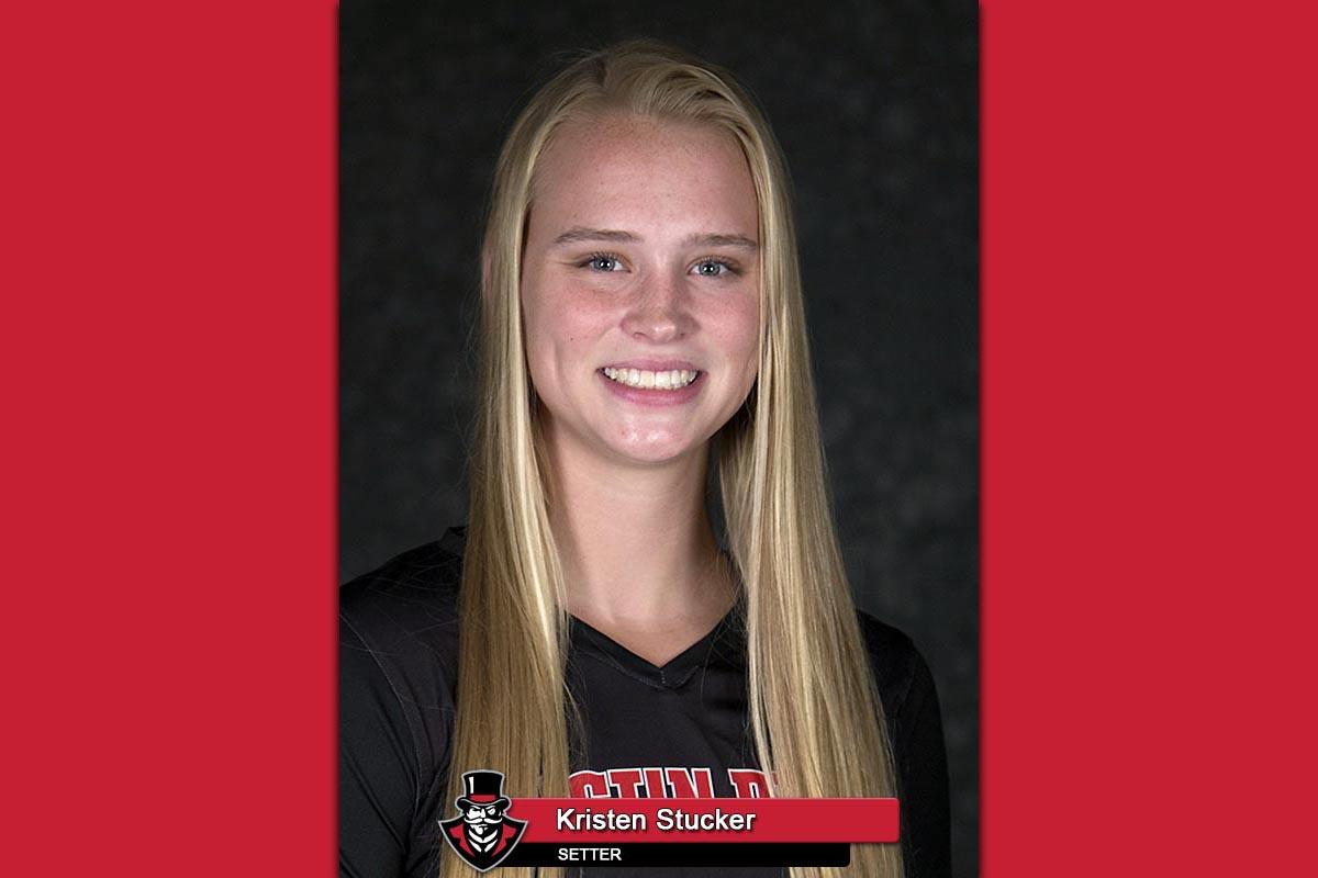 APSU Volleyball's Kristen Stucker