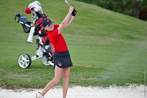 Austin Peay Women's Golf shoots an opening round 297 at Cardinal Classic, Monday. (APSU Sports Information)