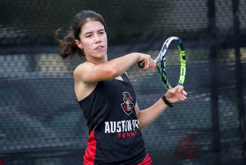 Austin Peay Tennis' Lidia Yanes Garcia heads to Malibu California to take part in the Oracle ITA Master's National Tournament. (APSU Sports Information)