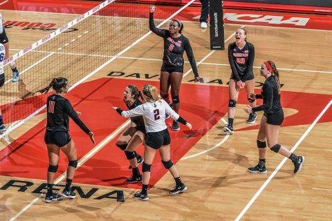 Austin Peay Women's Volleyball defeats Alabama A&M Bulldogs in straight sets in Huntsville. (APSU Sports Information)