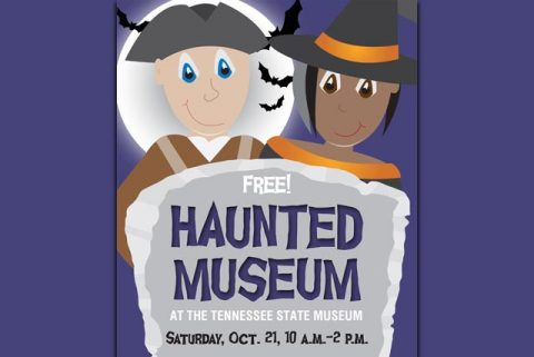 Annual Haunted Museum Festival at Tennessee State Museum on October 21st