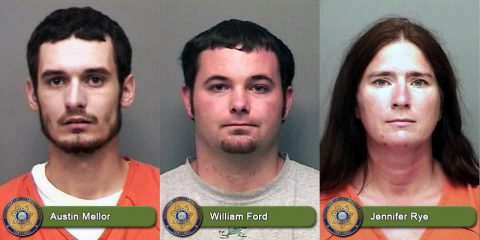 Austin T. Mellor, William Chance Ford, and Jennifer Ann Rye