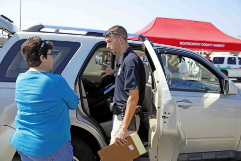 CPD and MCSO held Free Car Seat Inspections and Education event Saturday, September 23rd.