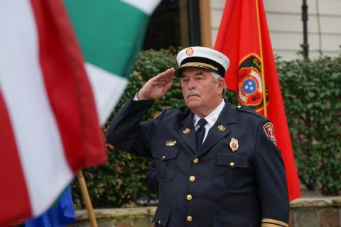 Clarksville Fire Rescue Chief Michael Roberts