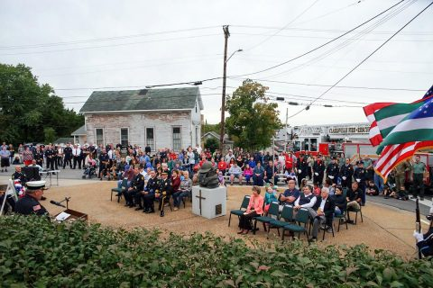 Clarksville Holds 9/11 Ceremony