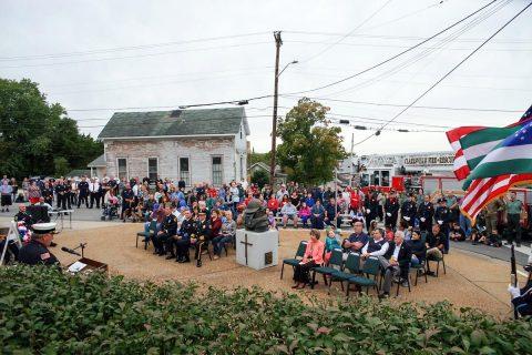 Clarksville Holds 9/11 Ceremony