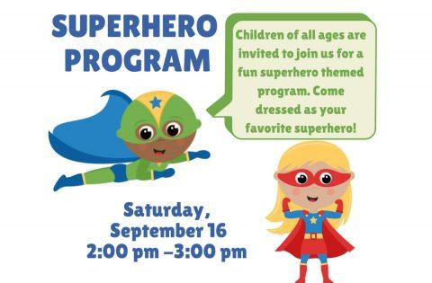 Clarksville-Montgomery County Public Library Superhero Program