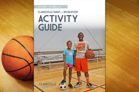 2017 Fall/Winter Clarksville Parks and Recreation Activity Guide is now available
