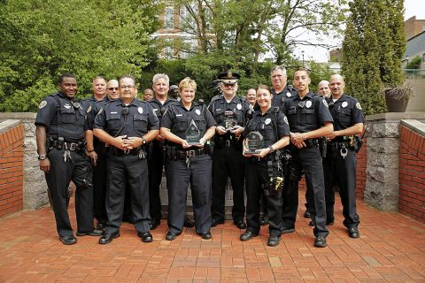 Clarksville Police Department's Traffic Unit takes Three Awards at 30th Annual Tennessee Lifesavers Conference and 13th Annual Law Enforcement Challenge