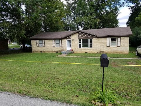 Clarksville Police responded to a shooting at a house on Mills Drive where they found a woman and two children dead inside.