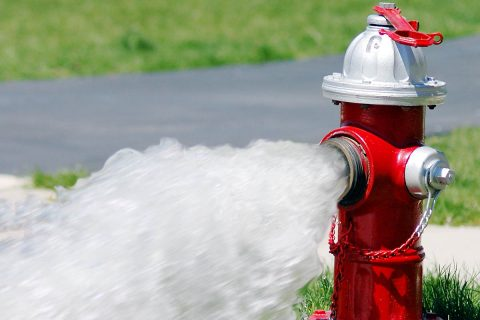 Annual Clarksville city wide hydrant testing began this week.