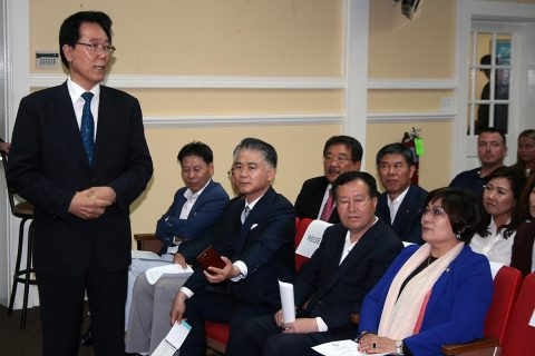 Gunpo Mayor Kim Yoon Joo and the Gunpo Sister City Delegation attended the September 7th Clarksville City Council Meeting.
