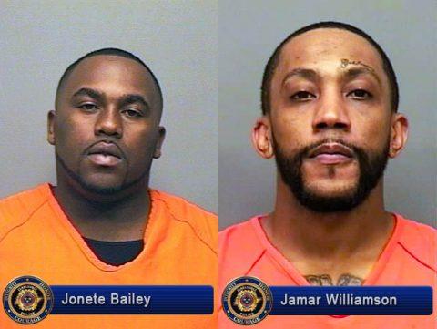 Jonete Bailey and Jamar Williamson