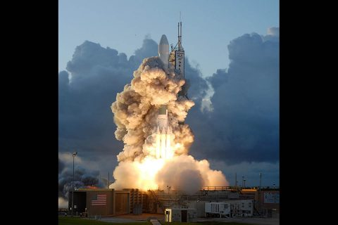 Dawn launched 10 years ago on Sept. 27, 2007. (NASA/Sandra Joseph and Rafael Hernandez)
