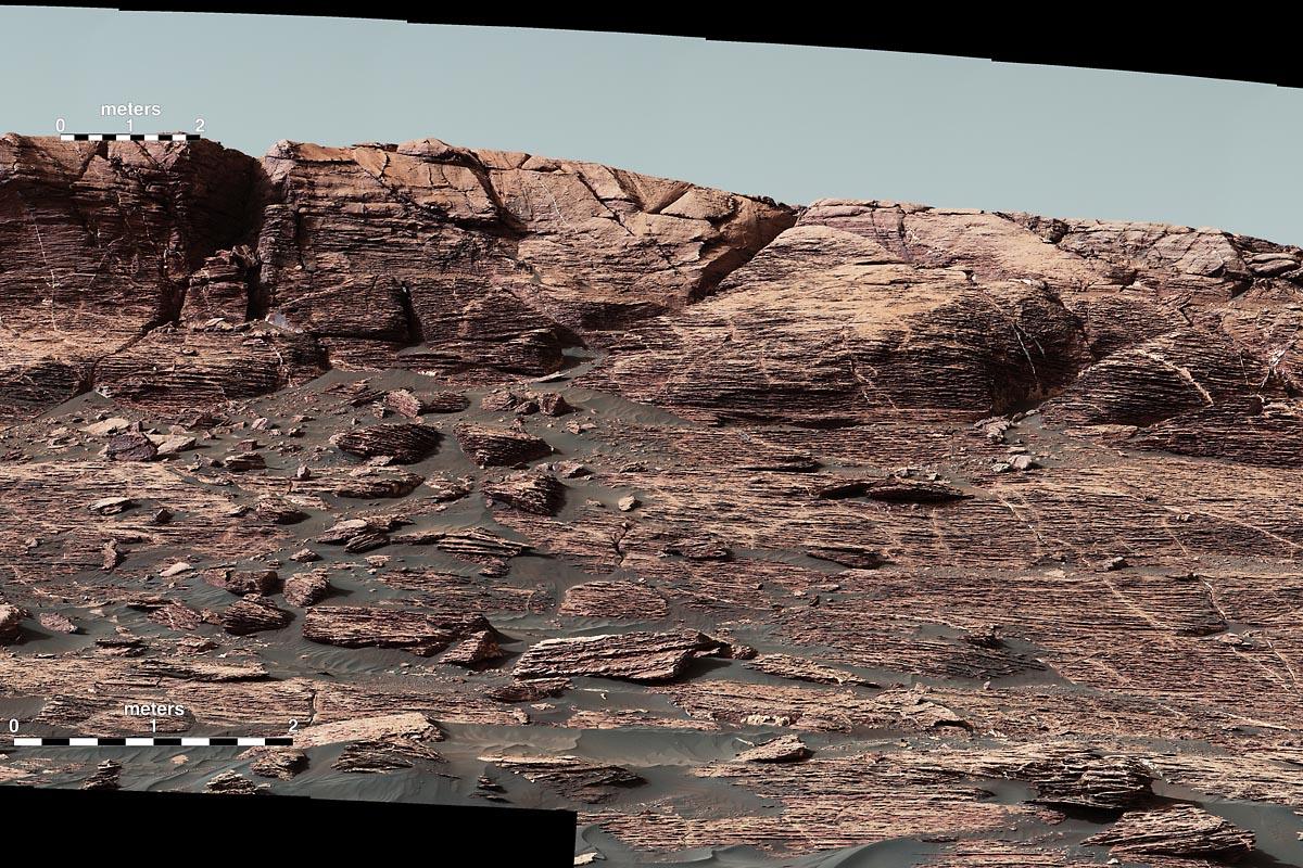 NASA's Mars Curiosity Rover begins climbing Vera Rubin ...