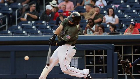 Nashville Sounds Posts Two Four-Run Innings in Come-From-Behind Victory. (Nashville Sounds)