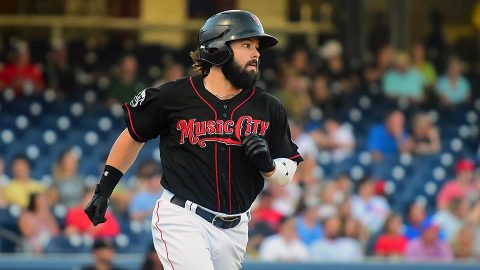 Nashville Sounds Jaff Decker Shines in Ninth Inning for Second Night in a Row. (Nashville Sounds)