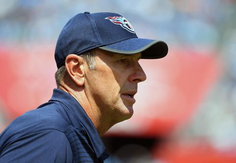 Tennessee Titans head coach Mike Mularkey. (Christopher Hanewinckel-USA TODAY Sports)