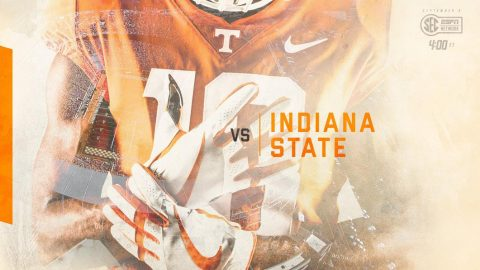 Tennessee Vols face Indiana State in home opener on Saturday, September 9th at 3:00pm CT on SEC Network. (UT Athletics)