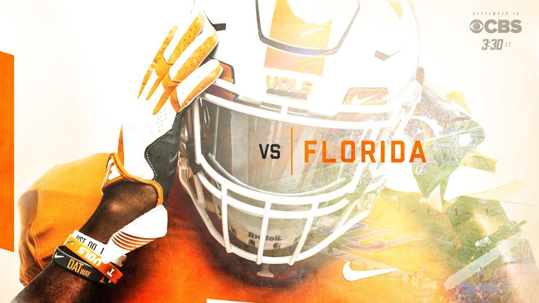 Vols open SEC play against Florida at Ben Hill Griffin Stadium on Saturday at 2:30pm, CT on CBS. (Tennessee Athletics)