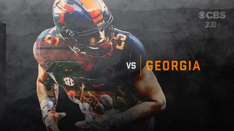Tennessee Vols renew SEC rivalry with Georgia on Saturday with a 2:30pm CT matchup on CBS. (Tennessee Athletics)