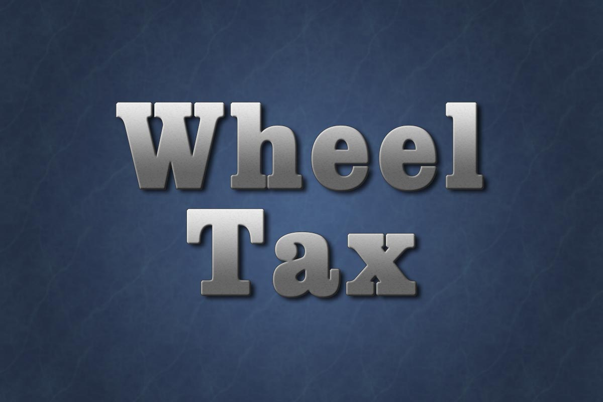 loudon county wheel tax New wheel tax on table by property tax you are only hitting a certain group of citizens of loudon county, and i feel like with a wheel tax that you will get a.