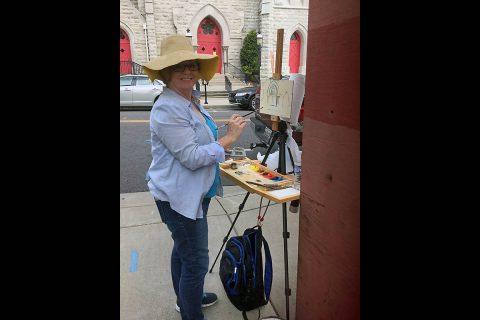 Barbara Joins at Trinity Episcopal Church.