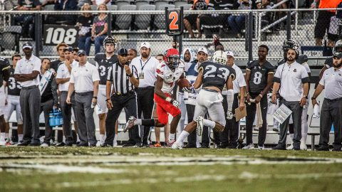 Austin Peay Football hangs tough in 73-33 loss to UCF Saturday night. (APSU Sports Information)