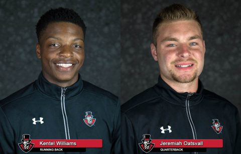 APSU Football - Kentel William and Jeremiah Oatsvall