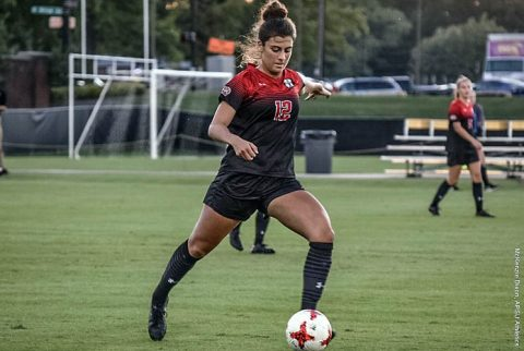 Austin Peay Women's Soccer drops 2-1 match to Tennessee Tech Sunday night. (APSU Sports Information)