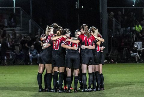 Austin Peay Women's Soccer had two regular season games left. (APSU Sports Information)