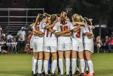 Austin Peay Women's Soccer program awarded United Soccer Coaches Team Academic Award for 2016-17. (APSU Sports Information)