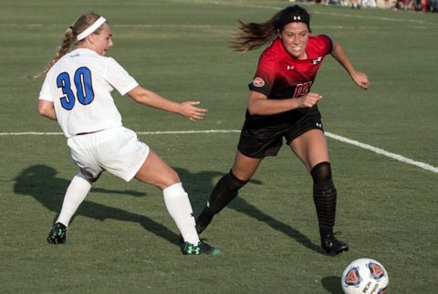 Austin Peay Women's Soccer plays at Murray State Thursday in the Battle of the Border. (APSU Sports Information)