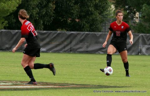 Austin Peay Women's Soccer closes out regular season play Sunday against Morehead State at Morgan Brothers Soccer Field.
