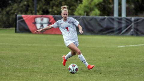 APSU Women's Soccer beats Morehead State 2-0 at Morgan Brothers Soccer Field Sunday. (APSU Sports Information)