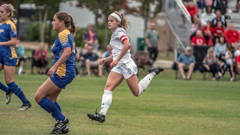 Austin Peay Women's Soccer heads to Nashville to take on Southeast Missouri in first round of the OVC Tournament Friday afternoon. (APSU Sports Information)