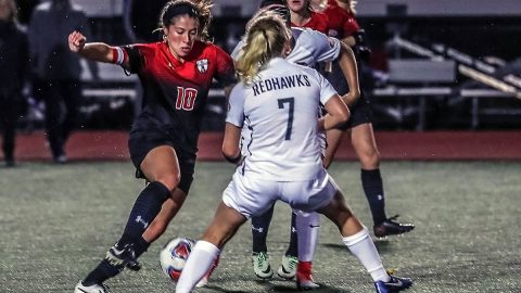 Austin Peay State University women's soccer team took on Southeast Missouri in the opening round of the Ohio Valley Conference Tournament Friday in Nashville at E.S. Rose Park. ( Robert Smith, APSU Athletics)