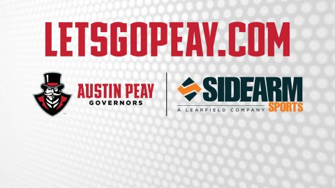 APSU Athletics LetsGoPeay website relaunched. (APSU Sports Information)
