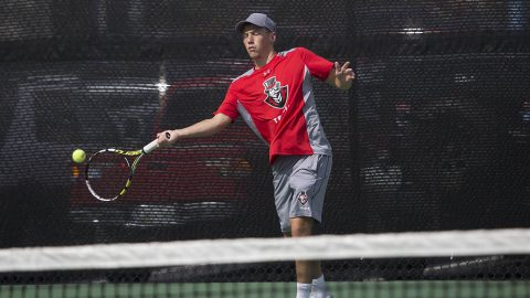 Austin Peay Men's Tennis looks to make their mark at ITA Ohio Valley Regionals Thursday. (APSU Sports Information)
