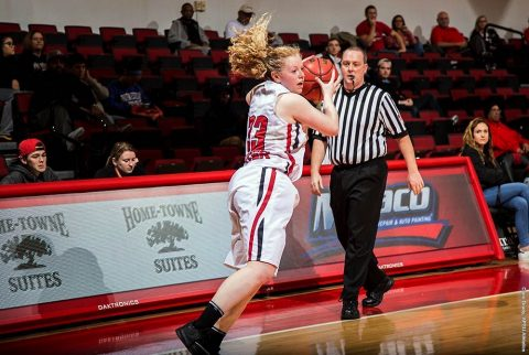 Austin Peay Women's Basketball held their first practice of the 2017-18 season Tuesday evening at the Dunn Center. (APSU Sports Information)