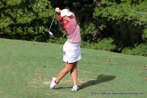 Austin Peay Women's Golf plays the final round of the Winthrop Intercollegiate Sunday Morning. (APSU Sports Information)